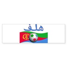 TEAM ERITREA ARABIC GOAL Bumper Bumper Sticker