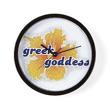 Greek Goddess Wall Clock