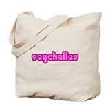Cute Seychelles Girl Tote Bag
