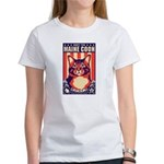 Obey the Maine Coon Cat! Women's T-Shirt