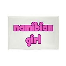 Namibian Girl Cute Rectangle Magnet