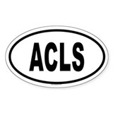 ACLS Oval Decal
