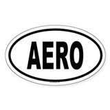 AERO Oval Decal