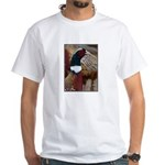 Ringtail Pheasant White T-Shirt