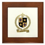 COMEAUX Family Crest Framed Tile