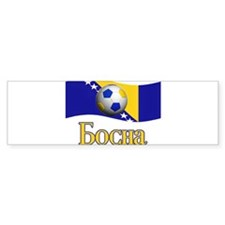 TEAM BOSNIA IN BOSNIAN Bumper Bumper Sticker