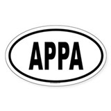 APPA Oval Decal