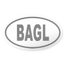 BAGL Oval Decal