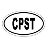 CPST Oval Decal