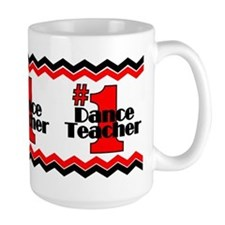 #1 Dance Teacher Mug