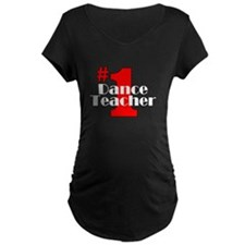 #1 Dance Teacher T-Shirt