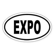 EXPO Oval Decal