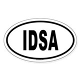 IDSA Oval Decal