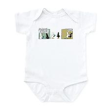 """WTD: """"No Comment"""" Infant Bodysuit"""