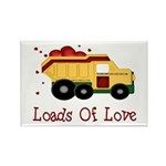Loads of Love Rectangle Magnet (10 pack)