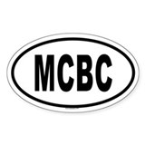 MCBC Oval Decal
