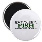 "Eat Sleep Fish 2.25"" Magnet (100 pack)"