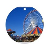 Navy Pier, Chicago Ornament (Round)