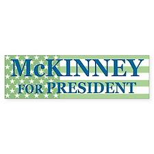 Cynthia McKinney Bumper Bumper Sticker