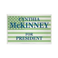 Cynthia McKinney Rectangle Magnet