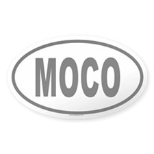 MOCO Oval Decal