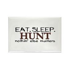 Eat Sleep Hunt Rectangle Magnet (10 pack)