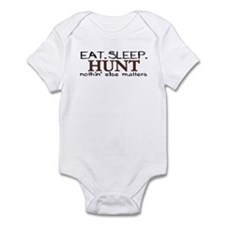 Eat Sleep Hunt Infant Bodysuit