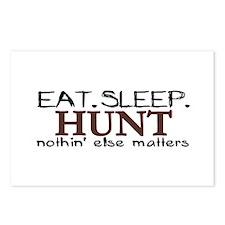 Eat Sleep Hunt Postcards (Package of 8)