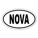 NOVA Oval Decal