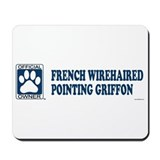 FRENCH WIREHAIRED POINTING GRIFFON Mousepad