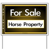 FOR SALE (Horse Property) Yard Sign