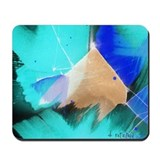 Blue Abstract Mousepad