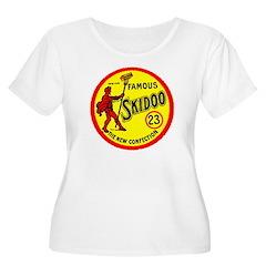 23 Skidoo Women's Plus Size Scoop Neck T-Shirt