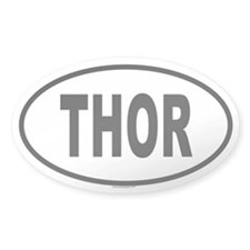THOR Oval Decal