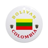 Bolivar Ornament (Round)