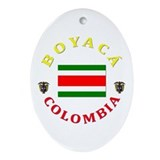 Boyaca Oval Ornament