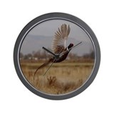 Pheasant Wall Clock