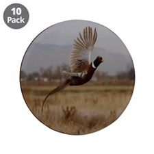"Pheasant 3.5"" Button (10 pack)"