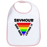 Seymour Gay Pride (#006) Bib