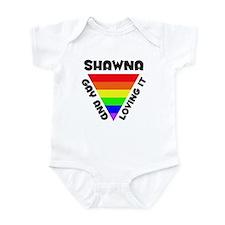 Shawna Gay Pride (#006) Infant Bodysuit
