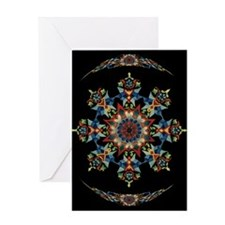 Fine Art Kalidiscope Greeting Card