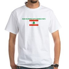 MADE IN AMERICA WITH LEBANESE Shirt