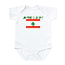LEBANESE LEGEND Infant Bodysuit