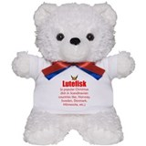 Lutefisk 1 Teddy Bear