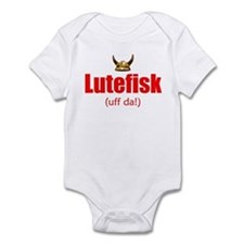 Lutefisk 3 Infant Bodysuit
