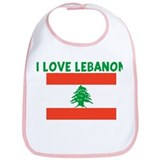 I LOVE LEBANON Bib