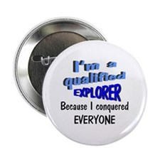 "Funny Up yours 2.25"" Button"