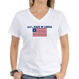 100 PERCENT MADE IN LIBERIA Shirt