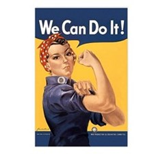 Rosie the Riveter We Can Do It Postcards (Package