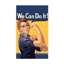 Rosie the Riveter We Can Do It Decal